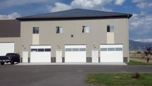 Bozeman / Belgrade Commercial Condos Next to Yellowstone International Airport - Great as Car Condos, RV Storage, 24/7 Commercial Businesses with full kitchens, full bathrooms with shower and tub