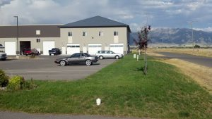 Bozeman Commercial Real Estate for Sale - Next to Yellowstone International Airport - 1600 sq. ft. 24-7 Commercial Condos with full kitchens and full baths with shower and tub.