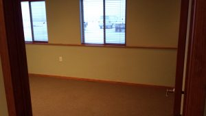 Bozeman Commercial Properties - Airport Plaza Commercial Condos with 24/7 full kitchens, full bathrooms with shower in 1600 square feet of office space.