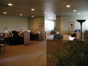 Bozeman Yellowstone International Airport Commercial Condo Office Space for Sale - Large 1600 SF space overlooking Bozeman Yellowstone International Airport with Full Kitchen, Full Bath with Shower and Tub.